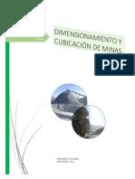 DIMENSIONAMIENTO Y CUBICACIÓN EN MINAS.pdf
