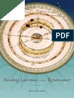 (I Tatti Studies in Italian Renaissance History) Palmer, Ada-Reading Lucretius in the Renaissance-Harvard University Press (2014)