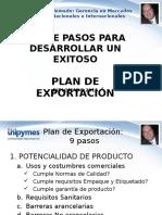 Gerencia Mercados Internacionales - Plan de Exportacion - Walter Caicedo Giraldo
