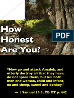 How Honest Are You