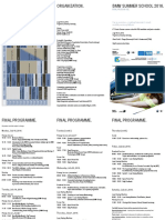 Conference Program BMW Summer School