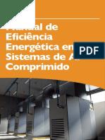 Manual de eficiência energética em sistemas de ar comprimido