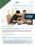 Powerstream Residential Tariffs