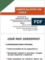 Rol Del Sindicalismo Chile Seminario Fech