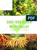 Good Food Review of the Ballot 2016