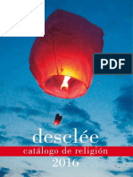 Desclee Catalogo Religion 2016