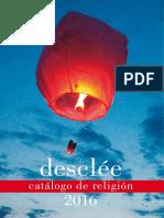 Desclee Catalogo Religion 2016