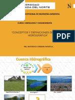 CLASE 07 CONCEPTOS Y DEFINICIONES DE CUENCA HIDROGRÁFICA.pdf