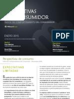 Perspectivas Del Consumidor Mb - Enero 2015