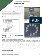 Clasificación Granulométrica - Wikipedia, La Enciclopedia Libre
