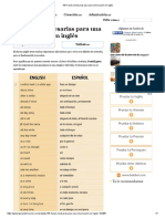 155 Frases Necesarias Para Una Conversación enInglés