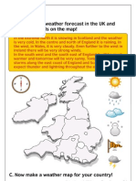 Weather Map Activity (Unit 6)
