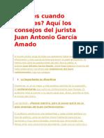 Aburres Cuando Expones Aquí Los Consejos Del Jurista Juan Antonio García Amado