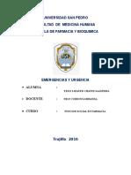 Monografia de Emergencias y Urgencias
