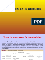Alcoholes 2 Reacciones