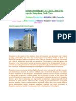 Bangalore Indian Property Buy%9741773331