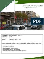 Bucuresti Gara de Nord, In Dreapta BRD, 71 Mp