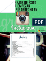 10 Consejos de Éxito para empezar con el pie derecho en Instagram