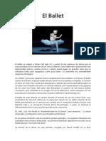 El Ballet y La Musica