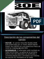 Presentacion Camion Komatsu 830E