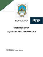 Cromatografia Liquida de Alta Performance