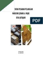 Cover Buku Pesanan Pk Marsono