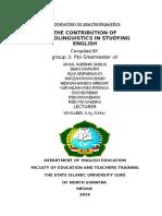 the contribution of psycholinguistics.docx