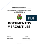 Trabajo. Documentos Mercantiles (1)