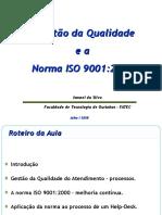 A Gestão Da Qualidade e a Norma ISO 9001-2000