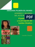 El pueblo awajún y su percepción sobre el cambio climático