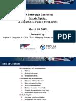 CFA Pittsburgh Luncheon - March 2015