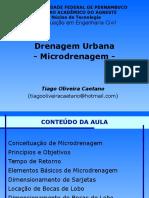 Aula - Microdrenagem
