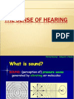 Physiology of Ear