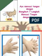 6 Langkah Mencuci Tangan Dengan Benar