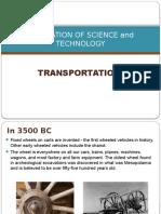 Transportation History and Technology