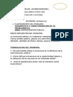 Burocracia en La Admon. Publica