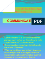Communication History and Technology