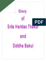 Ananta Das Babaji - Glory of Srila Haridas Thakur (Ingles)
