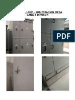 Celdas - Sub Estacion Mesa de Caña y Difusor
