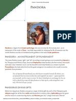 Pandora - Ancient History Encyclopedia