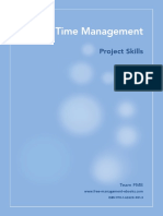 Project Time Management Fme - User