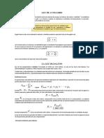 Ley de Avogadro, Dalton, Volumenes Parciales de Amagat y Graham