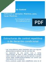 Estructuras de Control-Iterativa.