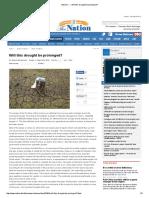 DroughtProlonged TheNation 20140817