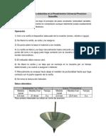 Reporte de Datos Obtenidos en El Penetrómetro Universal Presicion Scientific