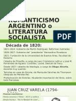 Romanticismo y Literatura Socialista