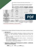 Análise Físico-química de Águas 2009
