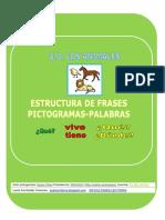 5fichas Estructura Frases Vive Tiene Animales