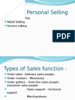 Sales Rep Styles
