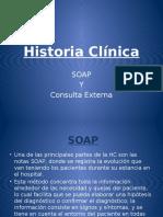 Historia Clínica Externa y SOAP - Semio Practica